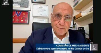 Lasier vai pedir que STF julgue ação contra lei que restringe pesca de arrasto no litoral gaúcho